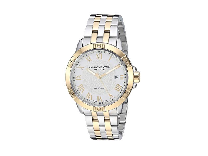 レイモンド ウィル メンズ 腕時計 アクセサリー Tango - 8160-STP-00308 Yellow/Silver