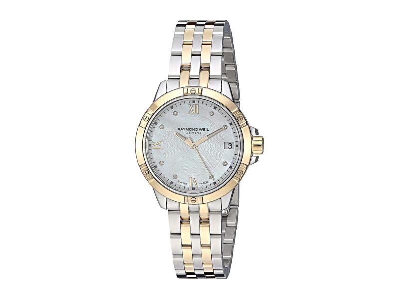 レイモンド ウィル レディース 腕時計 アクセサリー Tango - 5960-STP-00995 Yellow/Silver