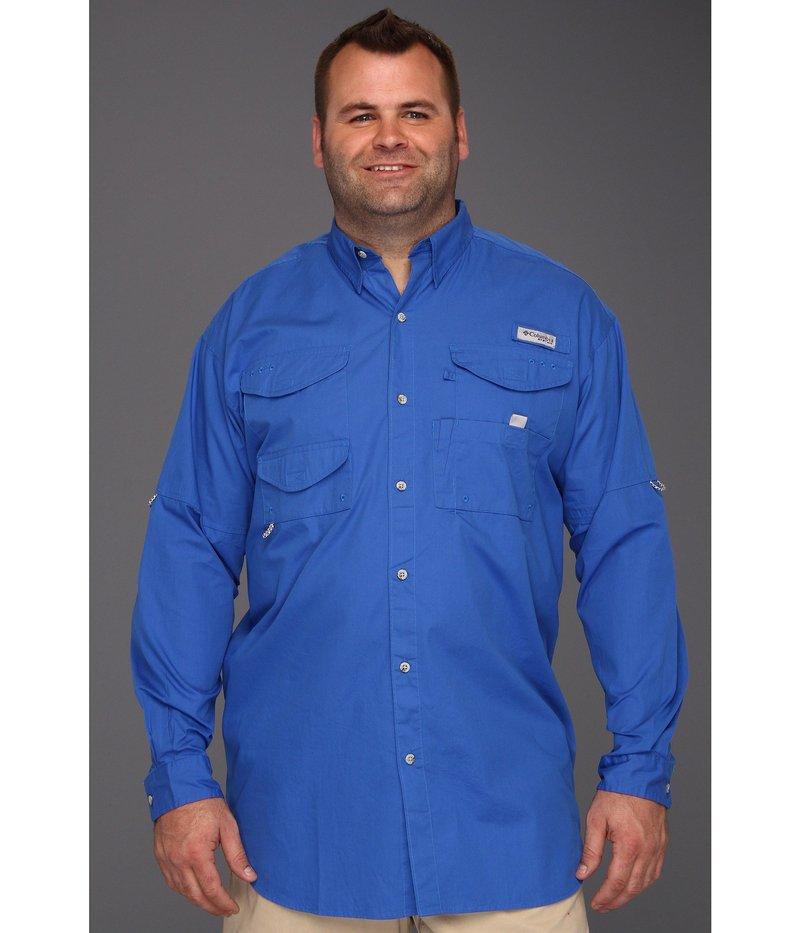 コロンビア メンズ シャツ トップス Big & Tall Bonehead L/S Shirt Vivid Blue
