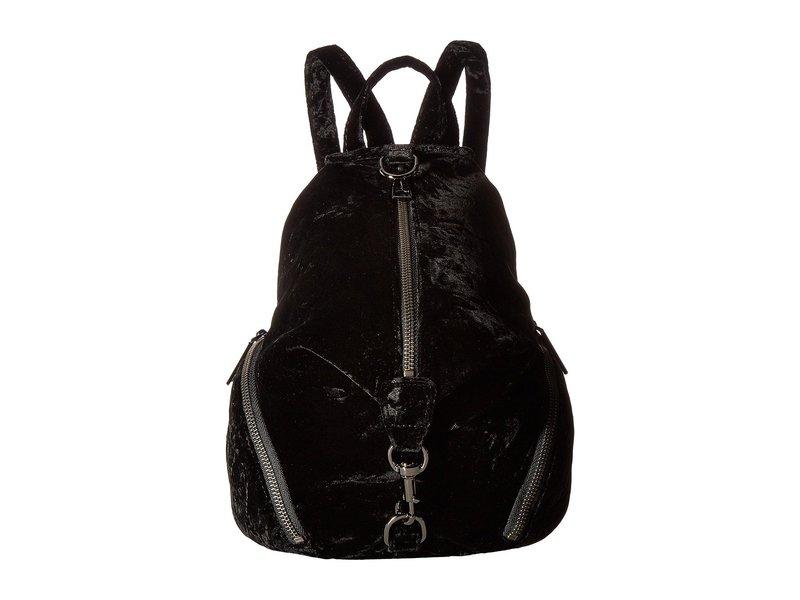レベッカミンコフ レディース バックパック・リュックサック バッグ Medium Julian Backpack Black 1