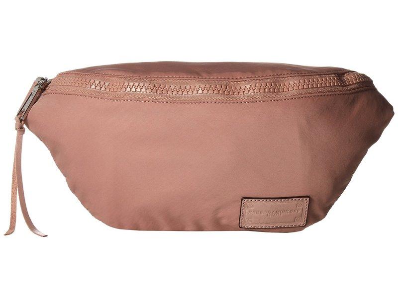 レベッカミンコフ レディース ボディバッグ・ウエストポーチ バッグ Nylon Belt Bag Vintage Pink