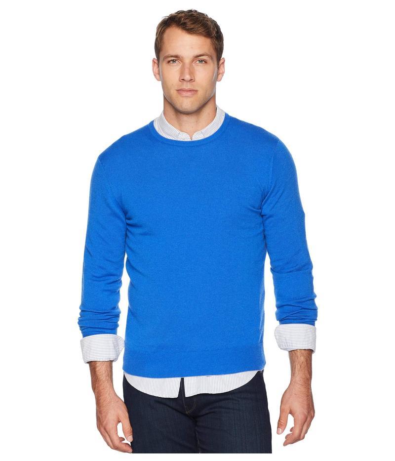 イレブンティ メンズ ニット・セーター アウター Cashmere Knit Crew Neck Sweater Blue
