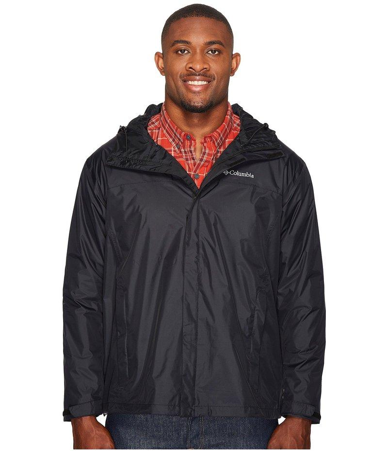 コロンビア メンズ コート アウター Big & Tall Watertight II Jacket Black