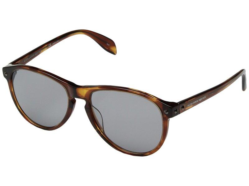 アレキサンダー・マックイーン メンズ サングラス・アイウェア アクセサリー AM0098SM Havana/Grey