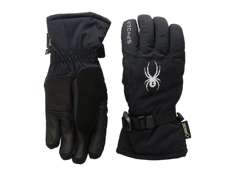 スパイダー レディース 手袋 アクセサリー Synthesis Gore-Tex Ski Gloves Black/Black/Black