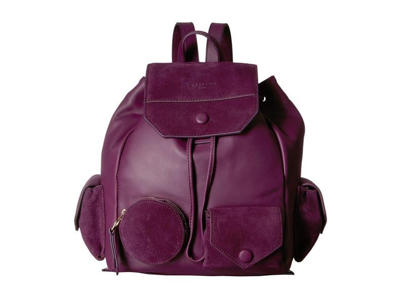 リーブスキン レディース バックパック・リュックサック バッグ Backpack M - CaPoES Plum