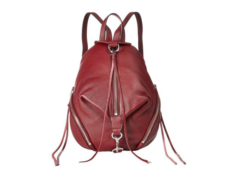 レベッカミンコフ レディース バックパック・リュックサック バッグ Medium Julian Backpack Bordeaux