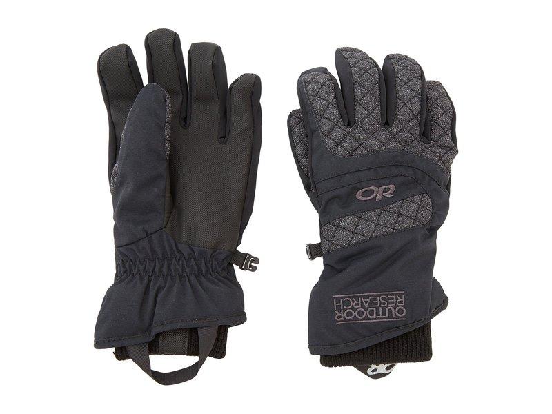 アウトドアリサーチ レディース 手袋 アクセサリー Women's Riot Gloves Black