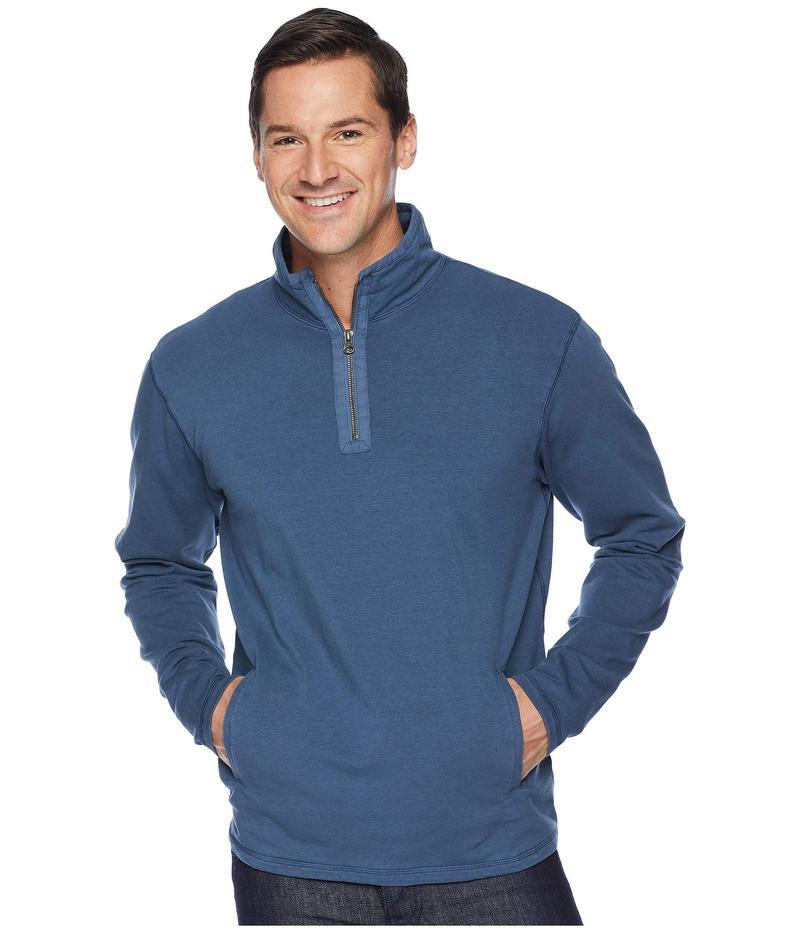 モッドドック メンズ ニット・セーター アウター Trestles 1/4 Zip Fleece Pullover Parisian