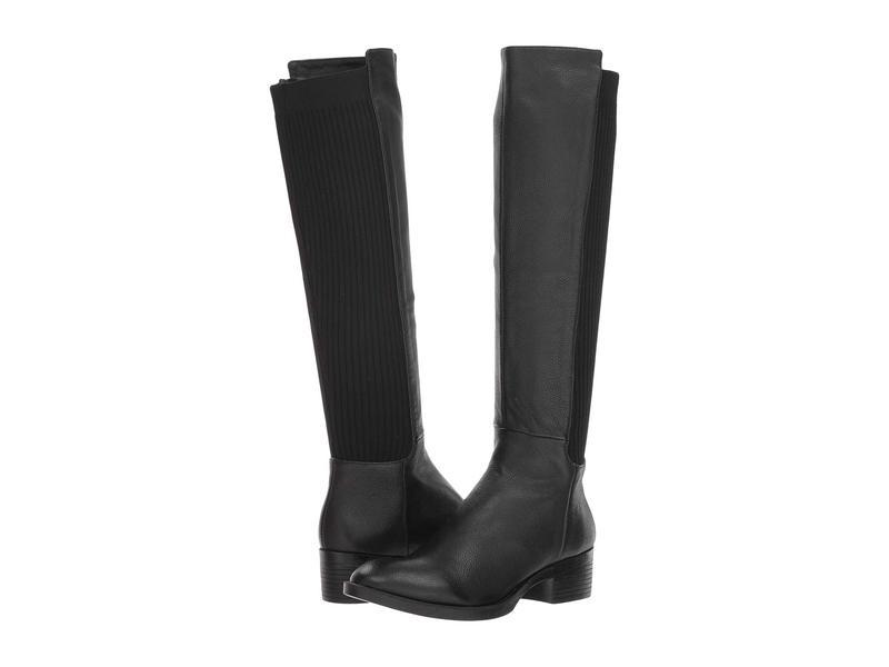 ケネスコール レディース ブーツ・レインブーツ シューズ Levon Boot Black Leather