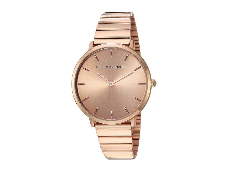 レベッカミンコフ レディース 腕時計 アクセサリー Major - 2200021 Rose Gold
