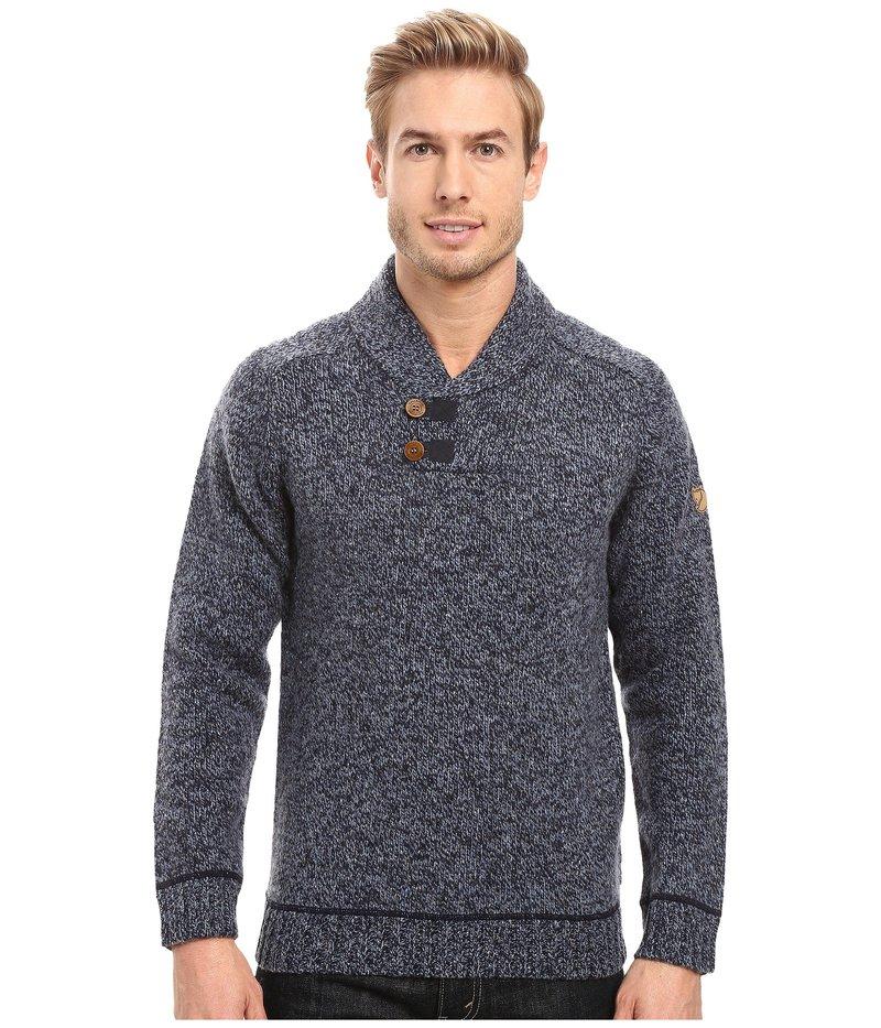 フェールラーベン メンズ ニット・セーター アウター Lada Sweater Dark Navy