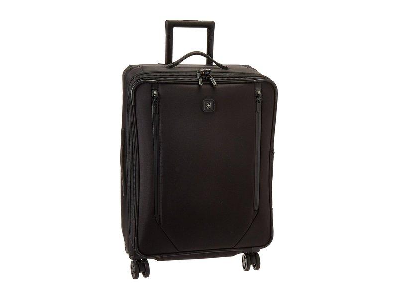 ビクトリノックス メンズ ボストンバッグ バッグ Lexicon 2.0 Dual-Caster Medium Packing Case Black