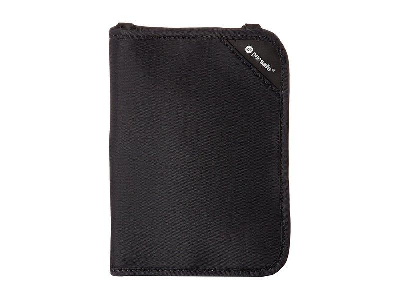 パックセーフ メンズ ボストンバッグ バッグ RFIDsafe V150 Anti-Theft RFID Blocking Compact Organizer Black