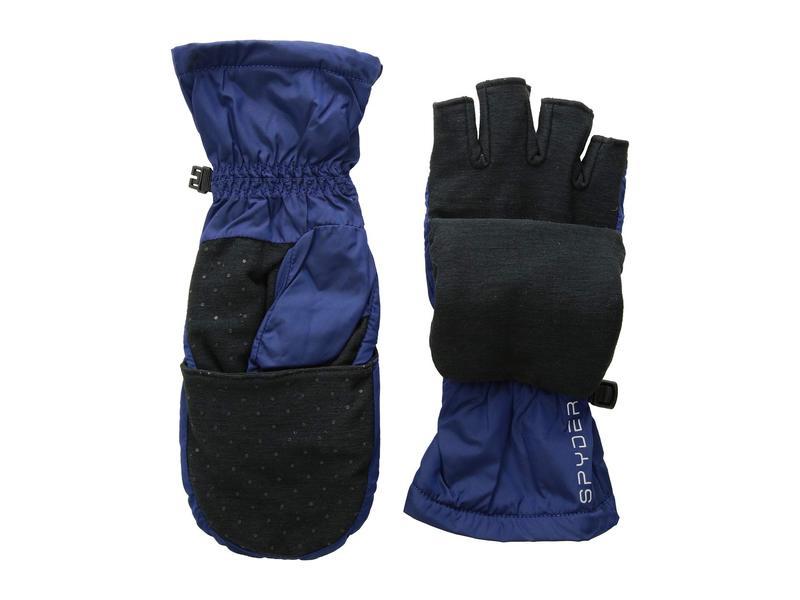 スパイダー レディース 手袋 アクセサリー Solitude Convertible Mitten Blue Depths/Black
