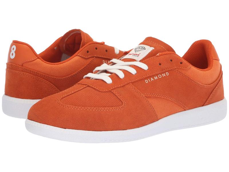 ダイヤモンドサプライ メンズ スニーカー シューズ Milan LX Burnt Orange