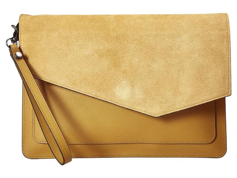 ボトキエ レディース ハンドバッグ バッグ Cobble Flap Clutch Golden