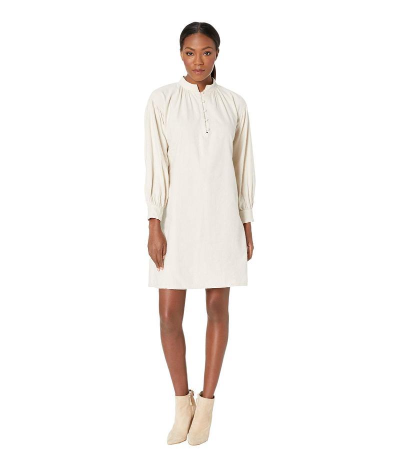 スノーピーク レディース ワンピース トップス Cotton/Wool Flannel Dress Ecru