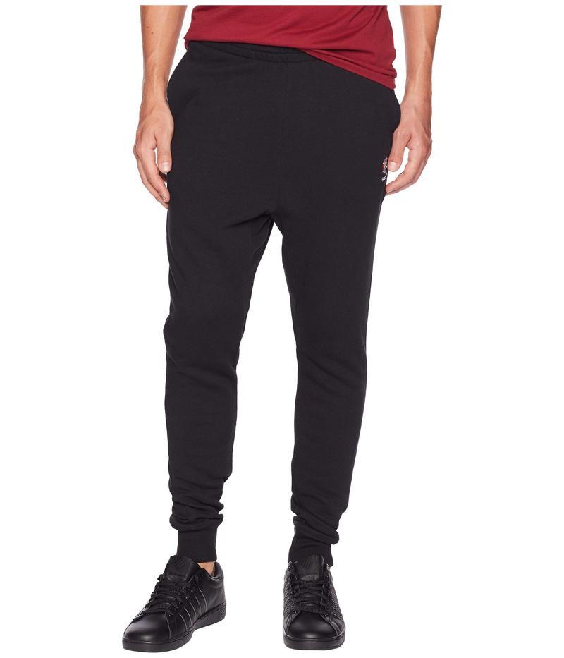 リーボック メンズ カジュアルパンツ ボトムス Activchill French Terry Pants Black