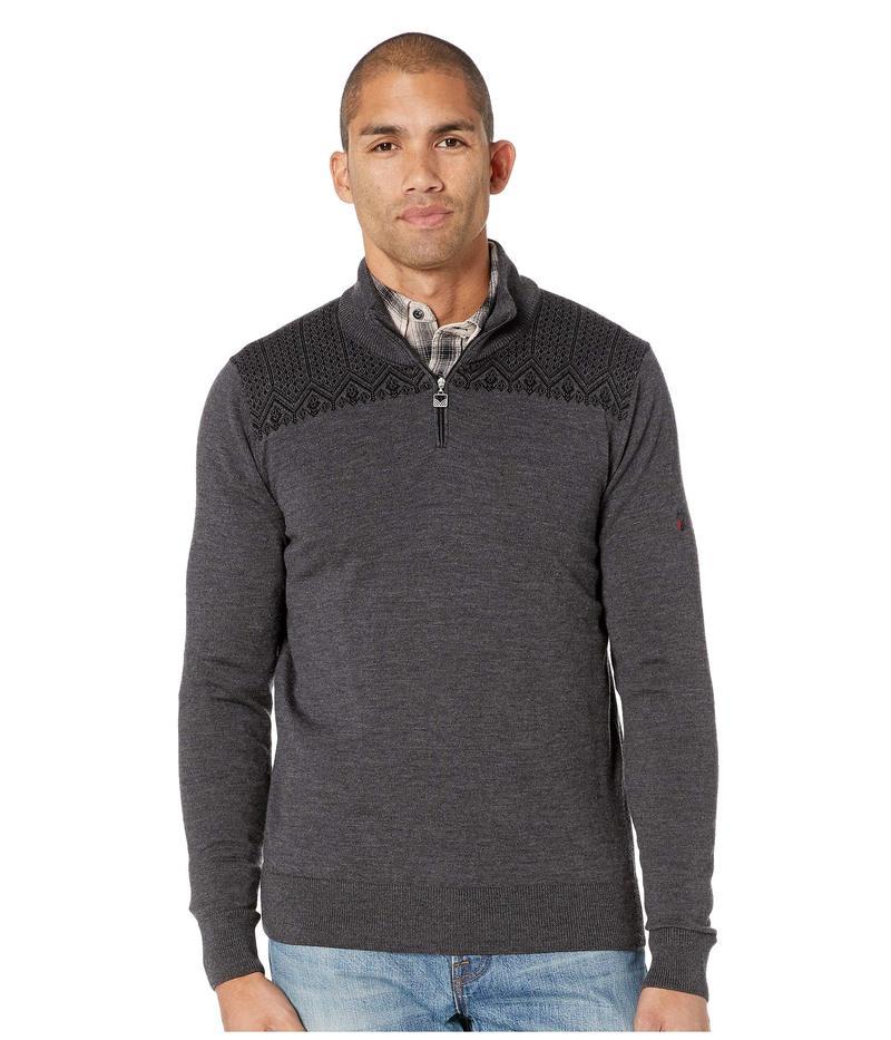 ダールオブノルウェイ メンズ ニット・セーター アウター Eirik Masculine Sweater E-Dark Grey Melange/Black