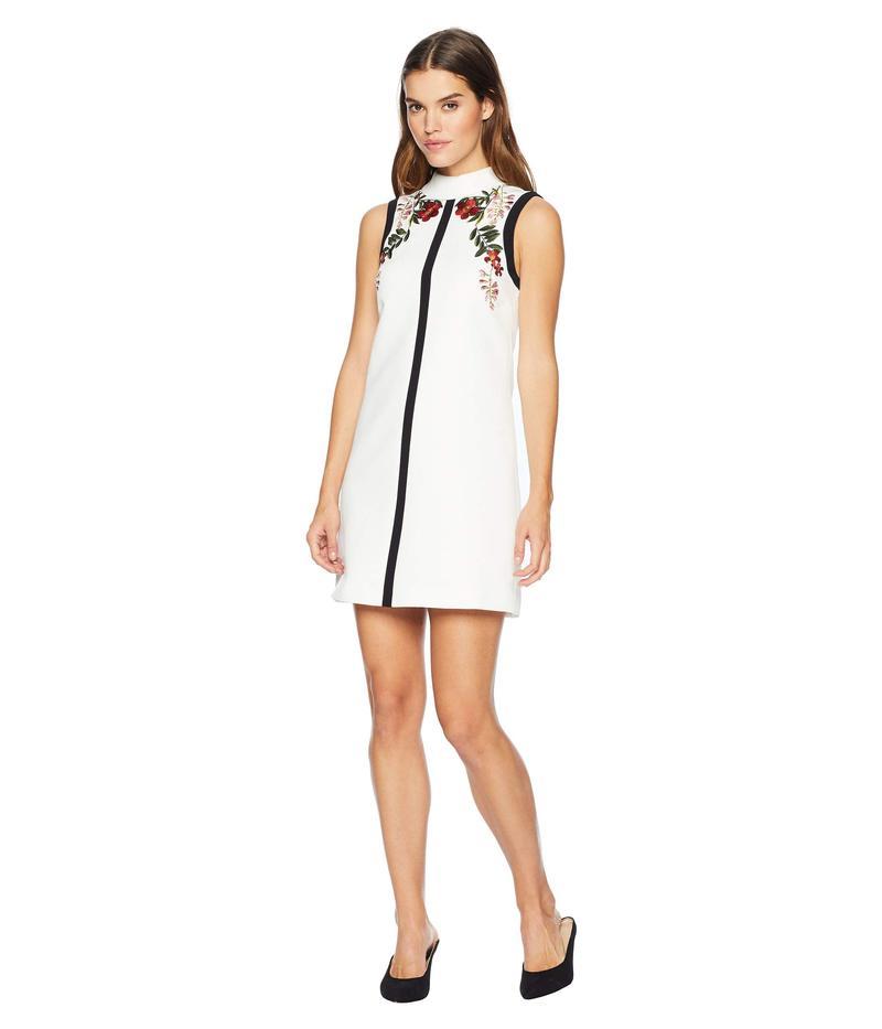 テッドベーカー レディース ワンピース トップス Aimmiid Embroidered Tunic Dress Ivory