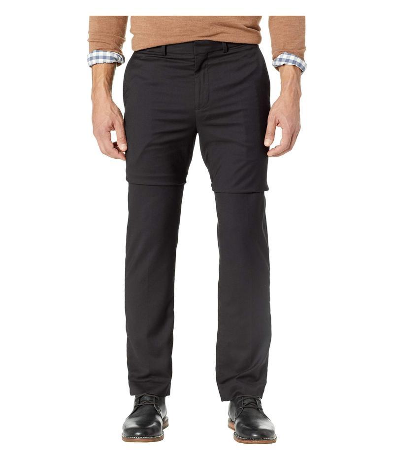 ドッカーズ メンズ カジュアルパンツ ボトムス Slim Fit Flat Front Pants Black