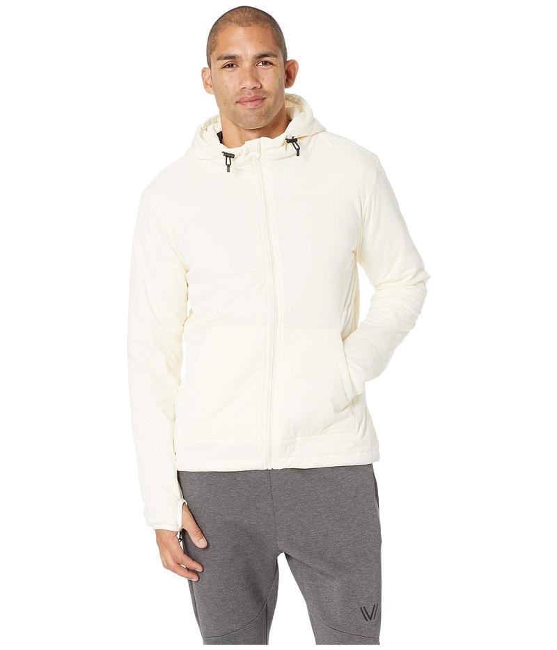 スノーピーク メンズ パーカー・スウェット アウター Flexible Insulated Hoodie White