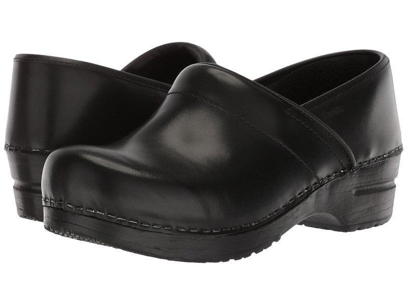 サニータ レディース サンダル シューズ Professional Cabrio Black Brush Off Leather