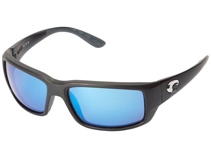 コスタ メンズ サングラス・アイウェア アクセサリー Fantail 580 Mirror Glass Black/Blue Mirror 580 Glass Lens