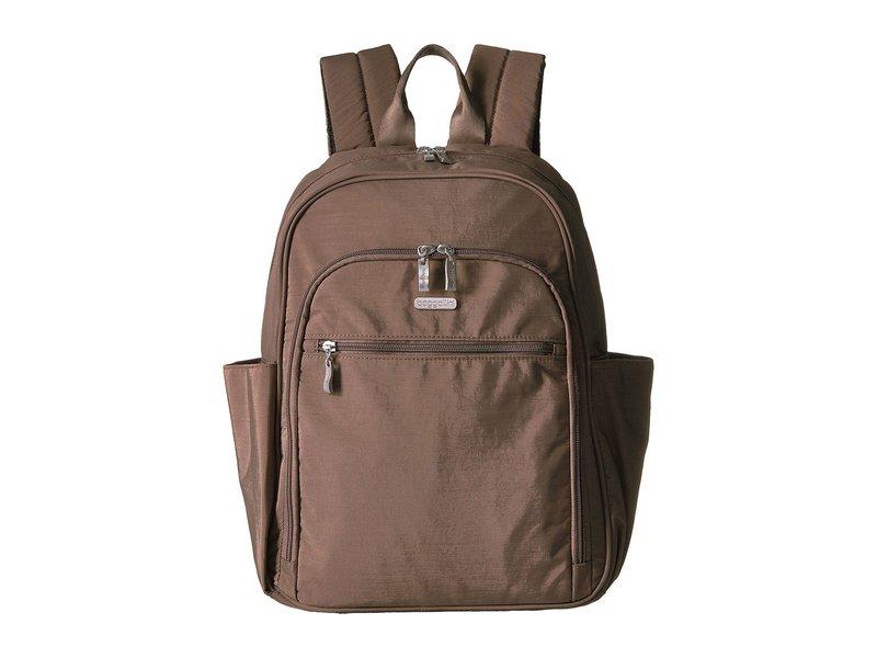 バッガリーニ レディース バックパック・リュックサック バッグ Essential Laptop Backpack with RFID Portobello, フォレストインテリア:de8fe937 --- world-dress.jp