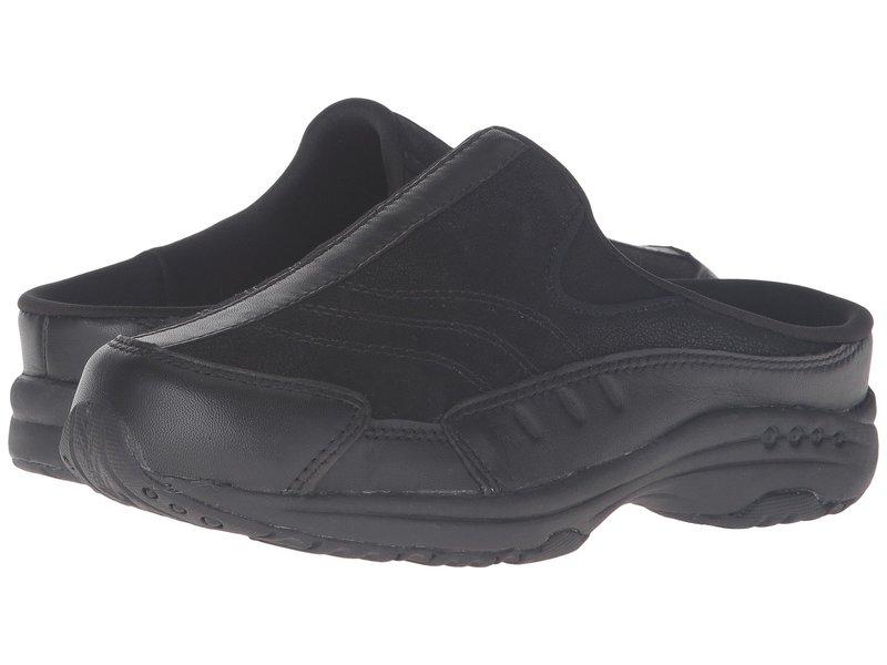 イージースピリット レディース サンダル シューズ Traveltime 234 Black/Black Leather