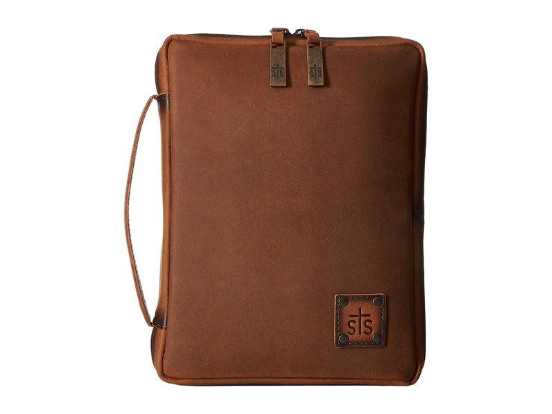エスティエスランチウェア メンズ ボストンバッグ バッグ STS Tablet/Bible Cover Tornado Brown