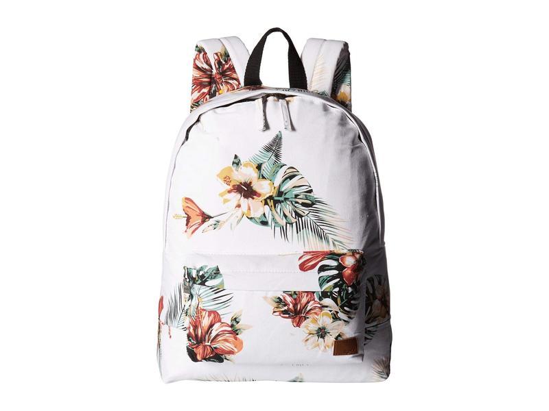 ロキシー レディース バックパック・リュックサック バッグ Sugar Baby Canvas Backpack Marshmallow Tropical Nights