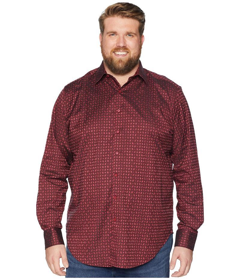 ロバートグラハム メンズ シャツ トップス Big & Tall Harris Shirt Burgundy (Tall)