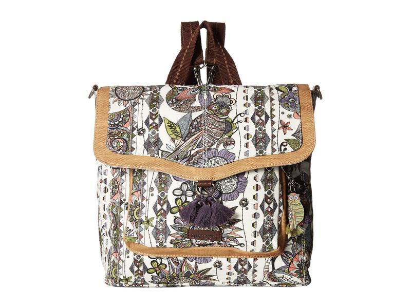サックルーツ レディース バックパック・リュックサック バッグ Colette Convertible Backpack Pastel Spirit Desert