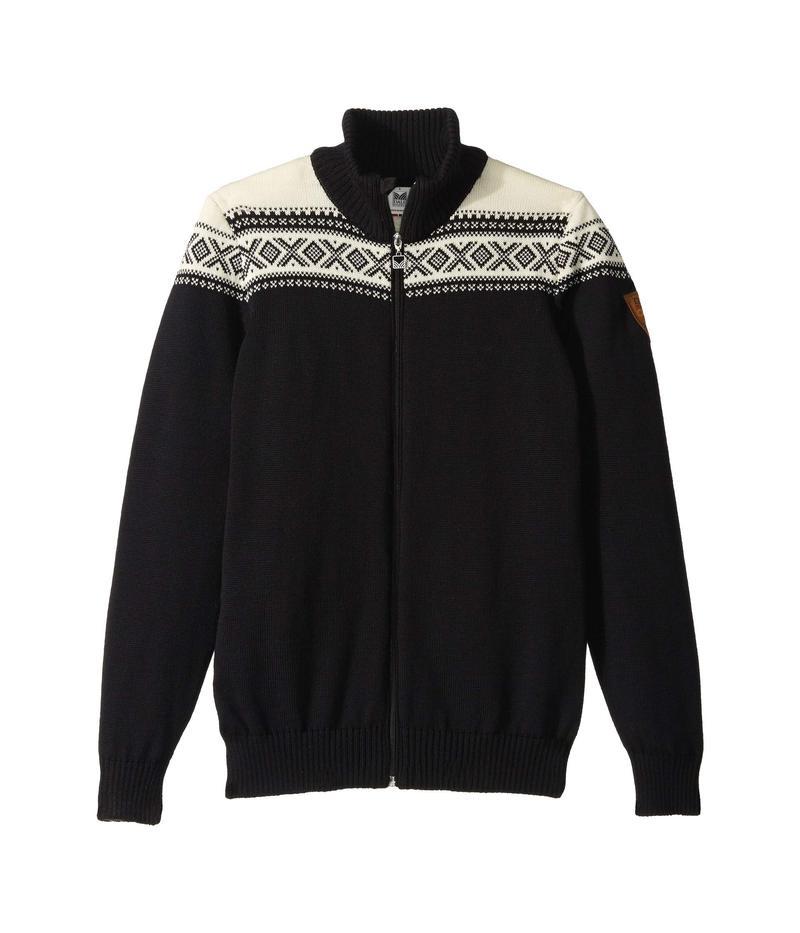 ダールオブノルウェイ メンズ ニット・セーター アウター Cortina Merino Masculine Jacket F-Black/White