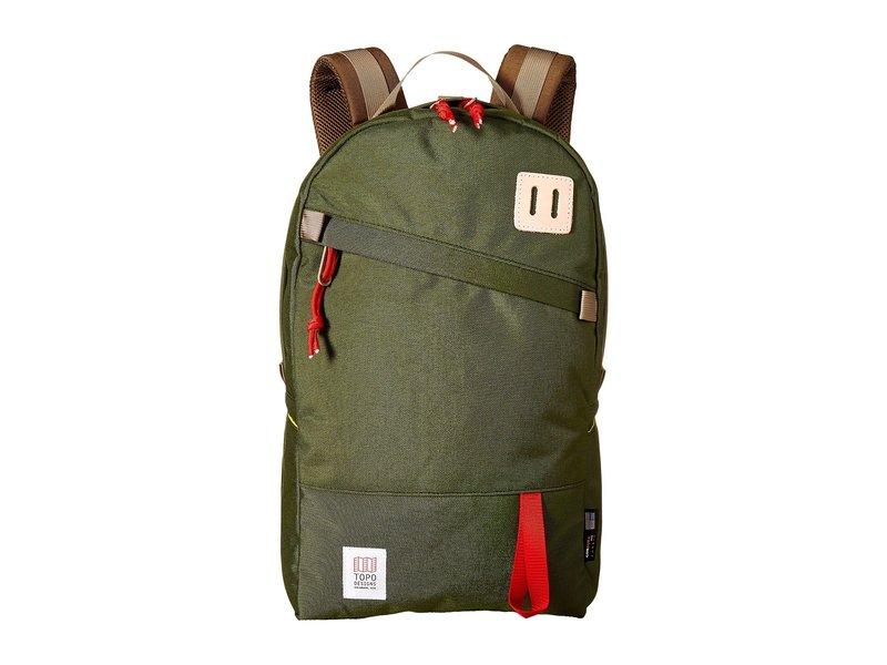 トポ・デザイン メンズ バックパック・リュックサック バッグ Daypack Olive