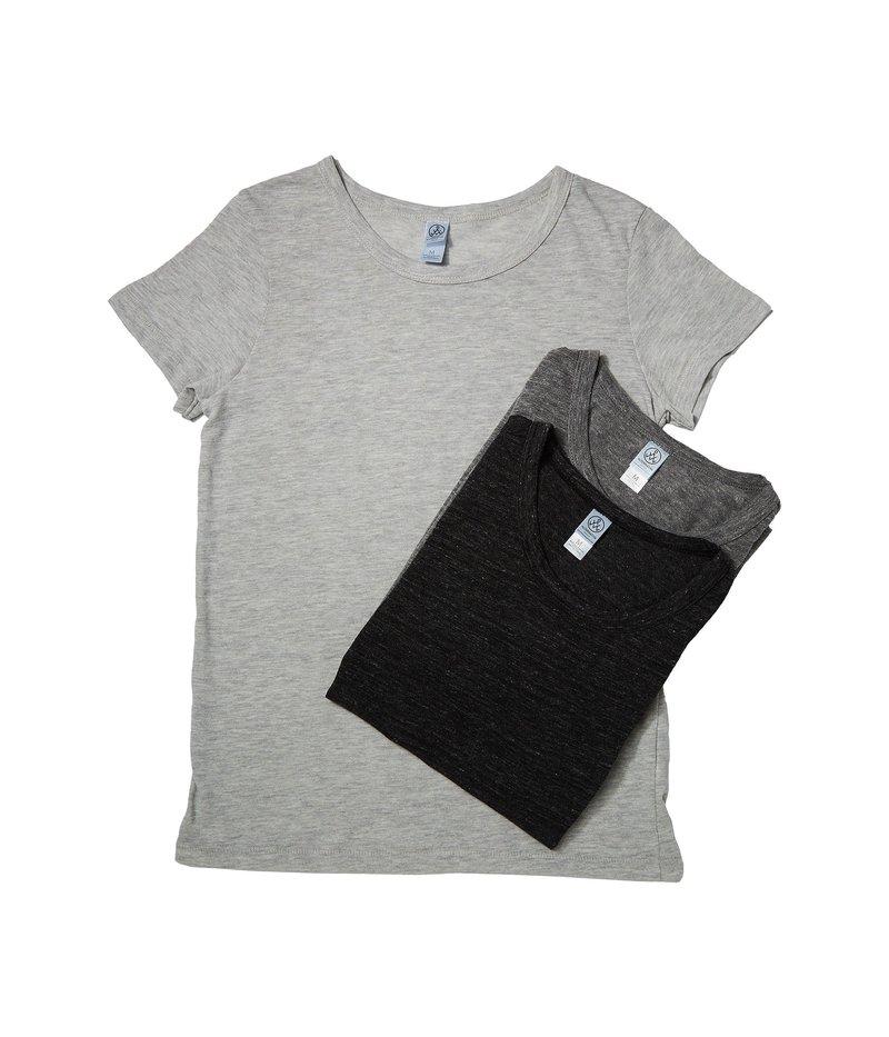 オルタナティヴ レディース シャツ トップス Eco Lady Bundle Eco Oat/Eco Grey/Eco Black