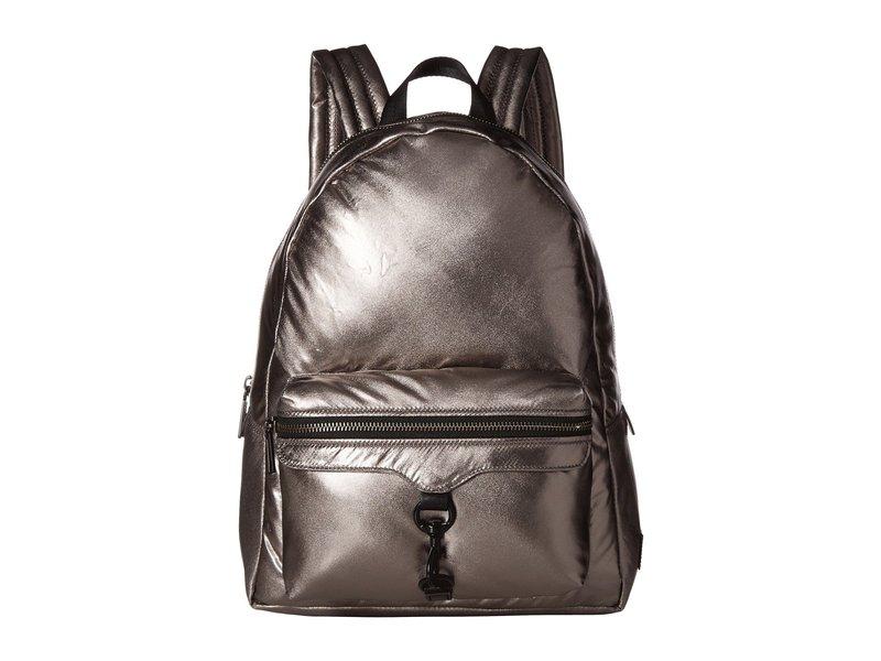 レベッカミンコフ レディース バックパック・リュックサック バッグ Riley Puffy Backpack Silver
