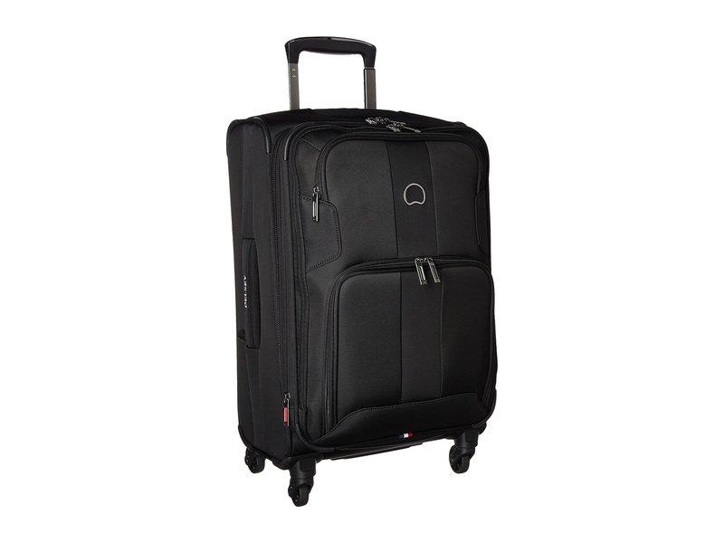 デルシー メンズ ボストンバッグ バッグ Sky Max Expandable Spinner Carry-On Black