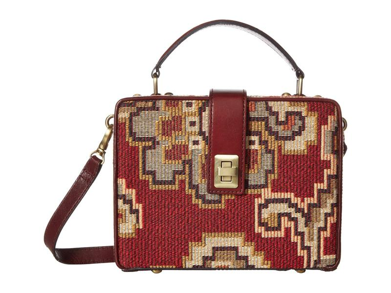 パトリシアナシュ レディース ハンドバッグ バッグ Tauria Box Bag Red