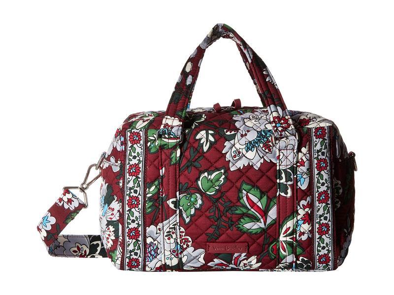 ベラブラッドリー レディース ハンドバッグ バッグ Iconic 100 Handbag Bordeaux Blooms