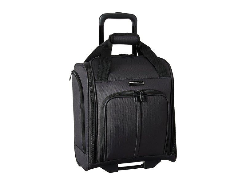サムソナイト メンズ ボストンバッグ バッグ Leverage LTE Wheeled Boarding Bag Charcoal