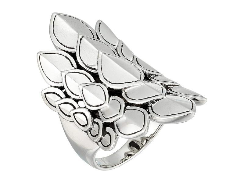ジョン・ハーディー レディース リング アクセサリー Legends Naga Saddle Ring Silver