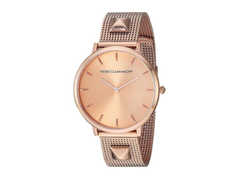 レベッカミンコフ レディース 腕時計 アクセサリー Major - 2200003 Rose Gold