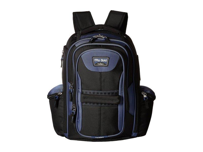 トラベルプロ メンズ バックパック・リュックサック バッグ TPro Bold 2.0 - Computer Backpack Black/Navy