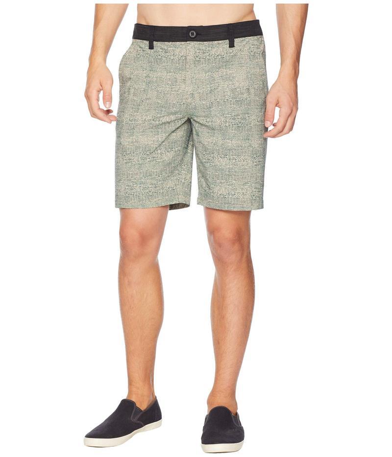 リップカール メンズ ハーフパンツ・ショーツ ボトムス Mirage Crestview Boardwalk Hybrid Shorts Brown