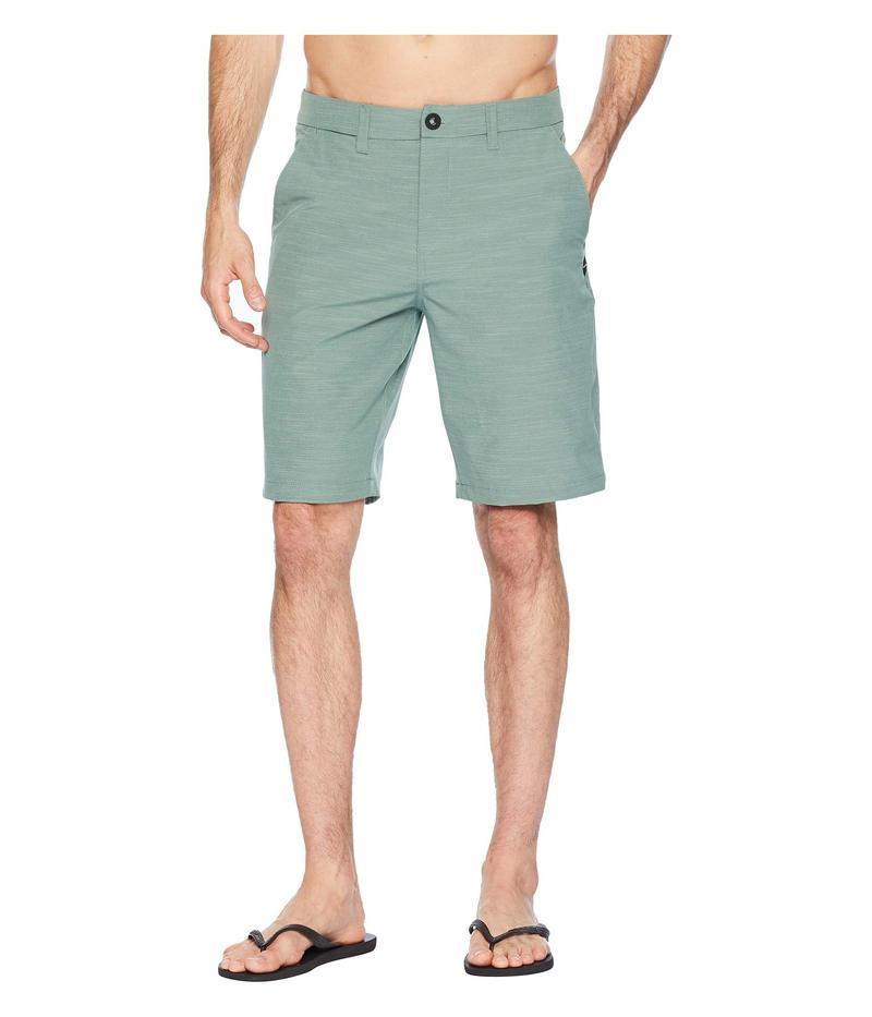 リップカール メンズ ハーフパンツ・ショーツ ボトムス Mirage Jackson Boardwalk Walkshorts Green 1