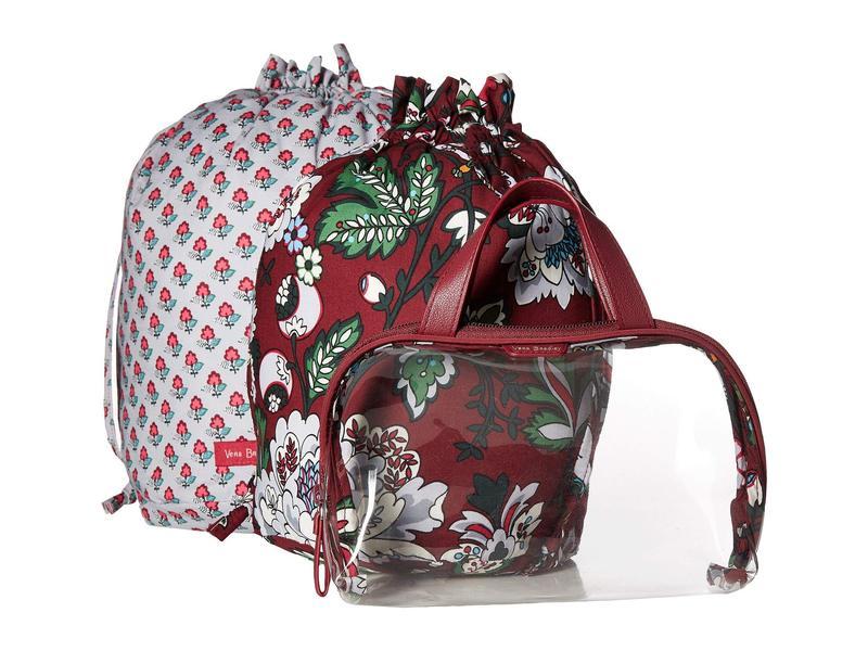 ベラブラッドリー レディース ハンドバッグ バッグ Mini Ditty Gift Set Bordeaux Blooms