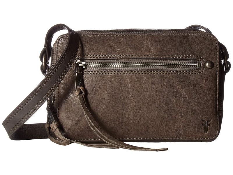 フライ レディース ハンドバッグ バッグ Zip Camera Bag Charcoal Antique Soft Vintage